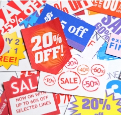 Coupons, Upselling and Marketing